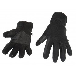FLEECE RIDING GLOVES BLACK,...