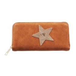 STAR WALLET IN LEATHER,...