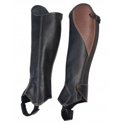 Half Chaps Soft Leather,...