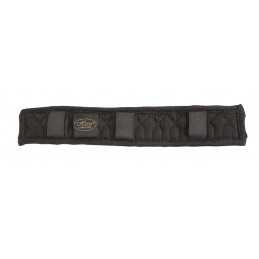 DRESSAGE GIRTH PADDED, BLACK