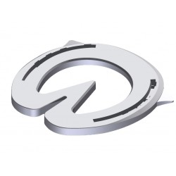 LiBero EQ, Quarter Clip, Steel - 1 pair