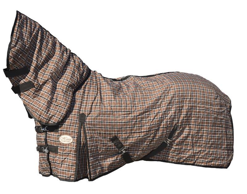 Gardinė gūnia su kaklu, užpildas 100G HORSE COMFORT